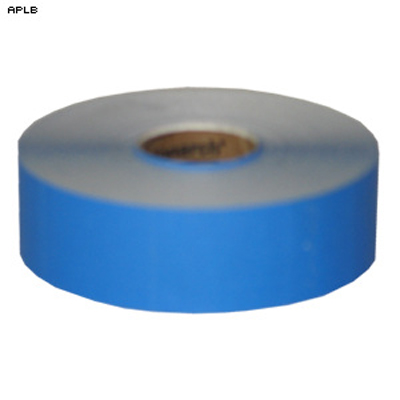 "Roll of 1000 1"" x 1 1/4"" Self Adhesive Target Pasters (Light Blue)"