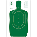 Texas Concealed Handgun License B-27 Training Target