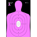 "B-27E ""Shoot for the Cure"" Breast Cancer Target (Pink)"
