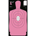 "B-27S ""Shoot for the Cure"" Breast Cancer Target (Pink)"