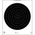 Official NRA International 25-Yard Rapid Fire Pistol Target (B-38)