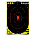 "Shoot-N-C 12"" x 18"" Silhouette, 100 Targets - 1800 Pasters"