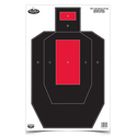 "Dirty Bird 16.5"" x 24"" IPSC Practice Splatter Target (100 Pack)"