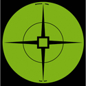 "6"" Green Self-Adhesive Target Spots (10 Sheets)"