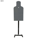 LET Steel Bobber E-Silhouette Target and Vertical Stand