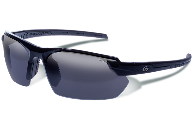 Vortex Black - Smoked Polarized with Silver Mirror - Gargoyles