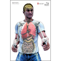 "Bag of Bones ""Man w/ Two Guns"" Anatomical Target"
