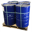 4-Pack of 55 Gallon Drums with Pallet