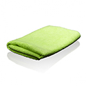 Green Microfiber Towel - 2 Pack