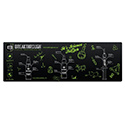 Breakthrough Clean Rubber Gun Mat - 12' x 36' (Rifle)