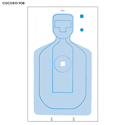 Contra Costa Co. PD Training Cardboard Target