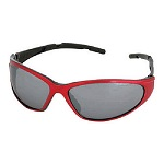 Champion Ballistic Shooting Glasses Red/Smoke