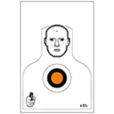Winston-Salem (NC) PD 7 Yard Qualification Target