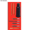Gunmaster 8-Piece Compact Universal Pistol Cleaning Kit
