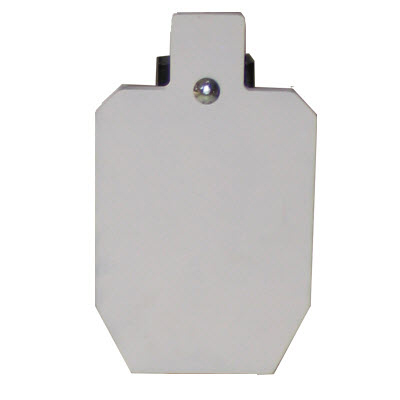 LET 50% IPSC Steel Target Head and Bracket