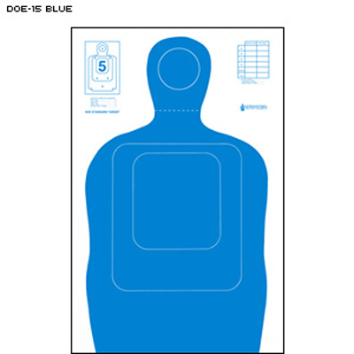 US Dept. of Energy TQ-15 Qualification Target (Blue)