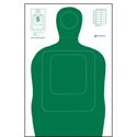 US Dept. of Energy TQ-15 Qualification Target - ALL WEATHER RESISTANT TARGET ON HEAVY PAPER