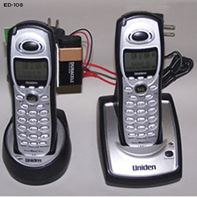 Cordless Phone IED Training Aid
