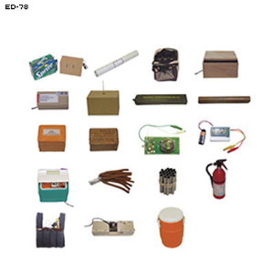 Sample IED Training Aid Kit