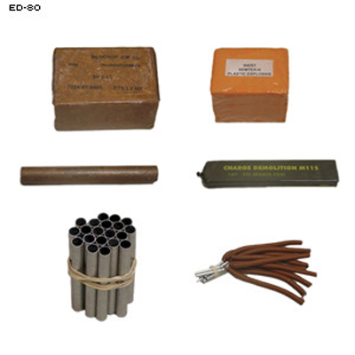 Inert Explosive Kit IED Training Aid