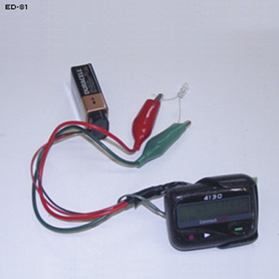 Pager Timer IED Training Aid