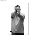 Edmond (OK) PD CLEET Style Training Target (Version B)