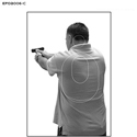 Edmond (OK) PD CLEET Style Training Target (Version C)