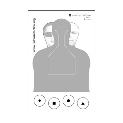 Fulcrum Tactical Training & Support Target