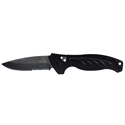 Gerber Emerson Alliance - Black, Serrated (22-07158)