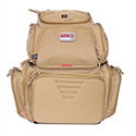 Handgunner Backpack w/Cradle for 4 Handguns (Tan) - GPS BAGS