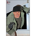 Home Invasion Scenario Target - Man Coming Through Window