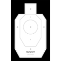 Official IDPA Paper Practice Target