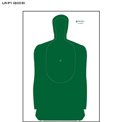 Louisiana POST Approved Training Silhouette (2009 Version)