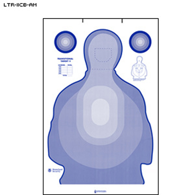 Federal Air Marshal Service Transitional Cardboard Target