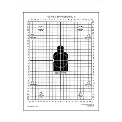 M68 Optic Training Target
