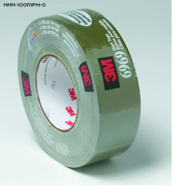 "3M 6969 ""100 MPH"" Duct Tape (OD Green)"