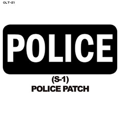 Police Patch Overlay