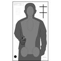 Ohio OPOTA Qualification Target (Version 2) - ALL WEATHER RESISTANT TARGET ON HEAVY PAPER