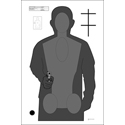 Ohio Peace Officer Training Academy Cardboard Qualification Target