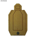 Oregon Department of Public Safety Cardboard Target