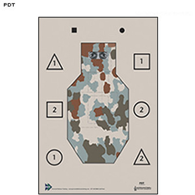 Personal Defense Training Camouflaged Tactical Target
