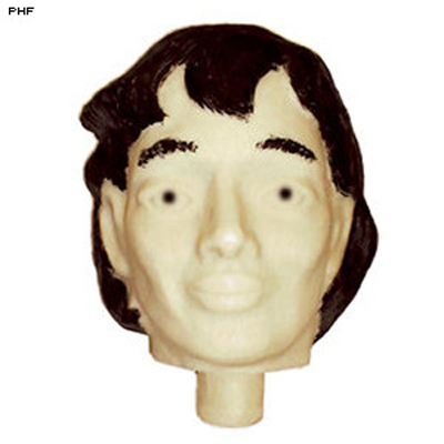 3D Plastic Target Female Replacement Head
