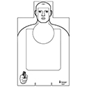 Provo (UT) PD Qualification Cardboard Target