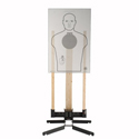 "Challenge Targets Pivot Stand and Target Holder w/ 8"" Pistol Steel Target"