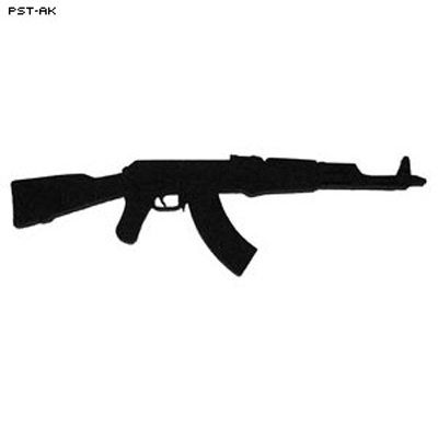3D Target Weapon Accessory - AK-47