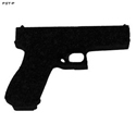 3D Target Weapon Accessory - Pistol