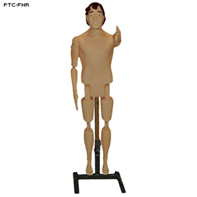 3D Plastic Full Body Female Reactive Target w/ Stand