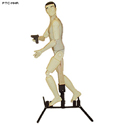 3D Plastic Full Body Reactive Target w/ Stand