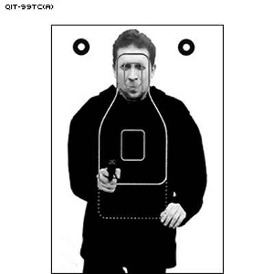 Maine State Police Modified QIT Photo Target (Version A)