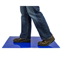"Shooting Range Sticky Mat - 24"" x 36"" (Blue)"